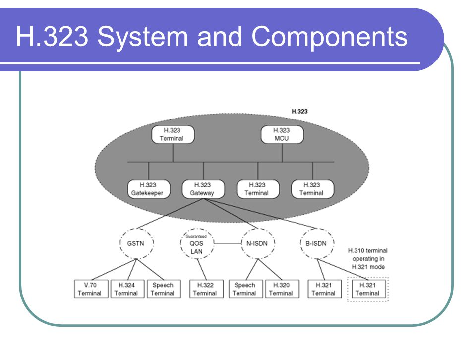 H.323 System and Components