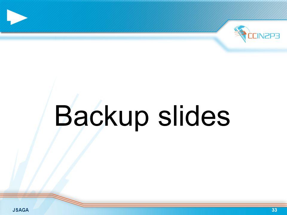 JSAGA33 Backup slides