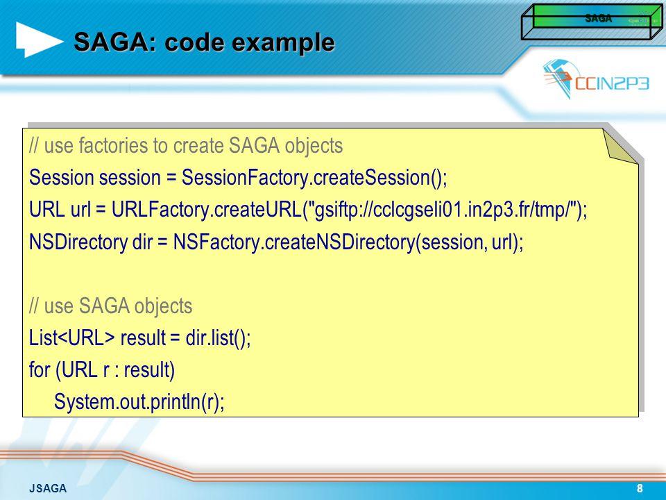 JSAGA29 Installer GUI