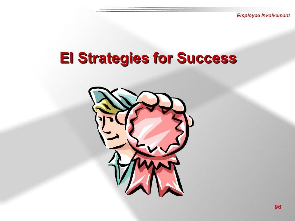 Employee Involvement 96 EI Strategies for Success