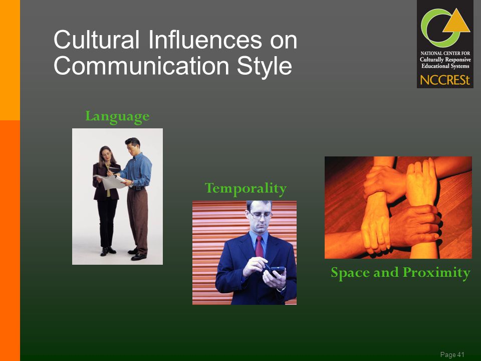 Page 40 Socio-Cultural Engagement Individuals engage in goal-directed activities in cultural contexts while relying on others who are more experienced