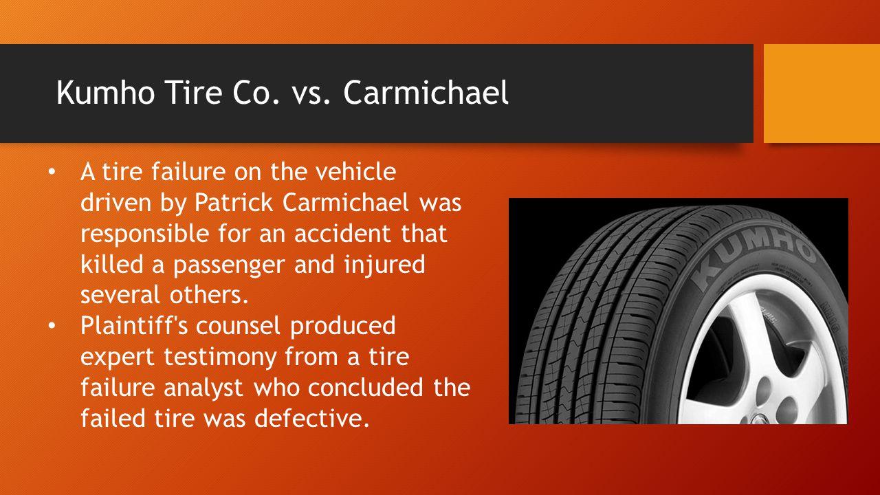 Kumho Tire Co. vs.