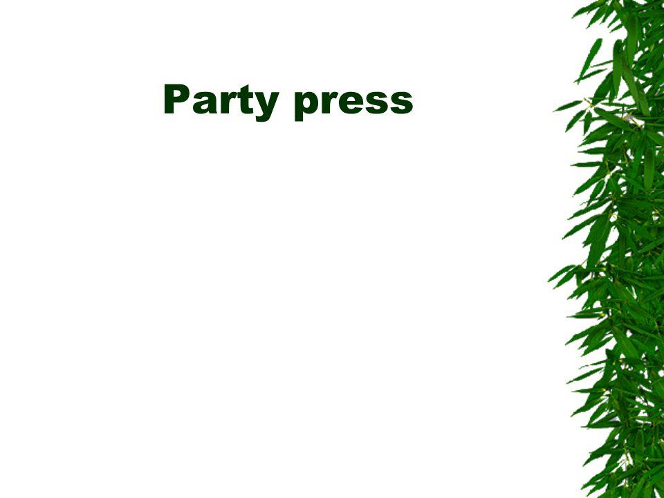Party press