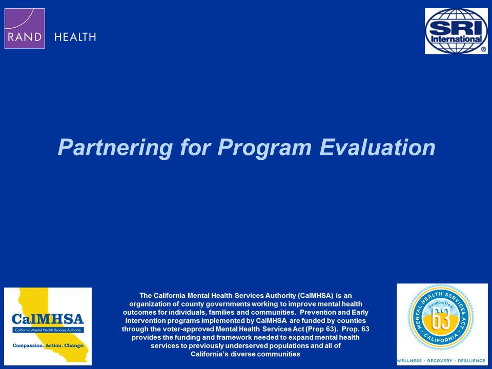 Partnering for Program Evaluation