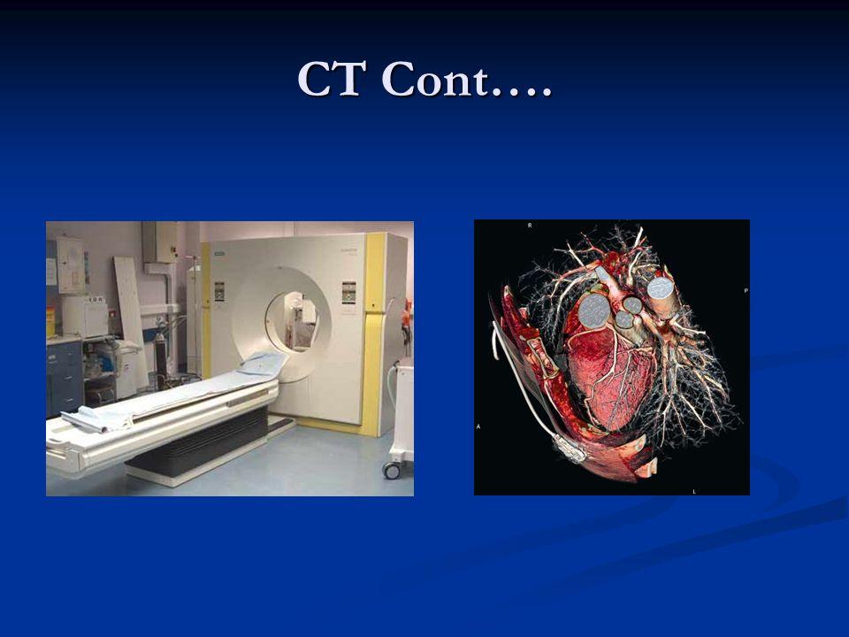 CT Cont….