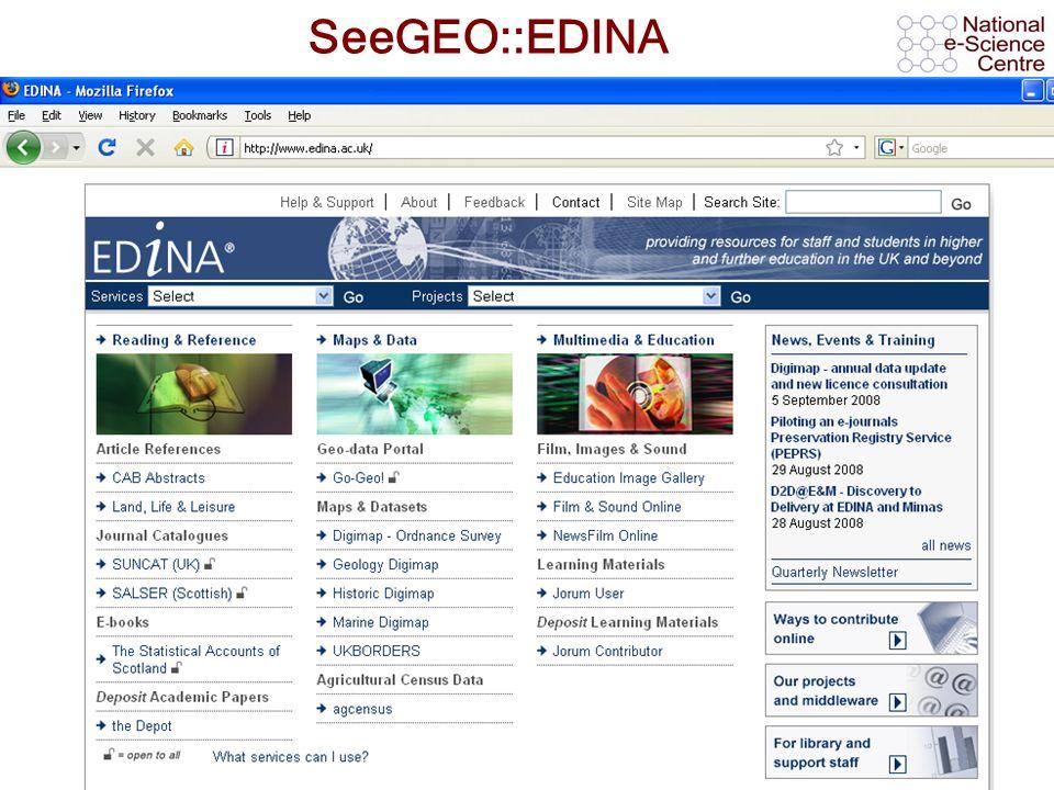 AHM 2008, 11 th September 2008 SeeGEO::EDINA