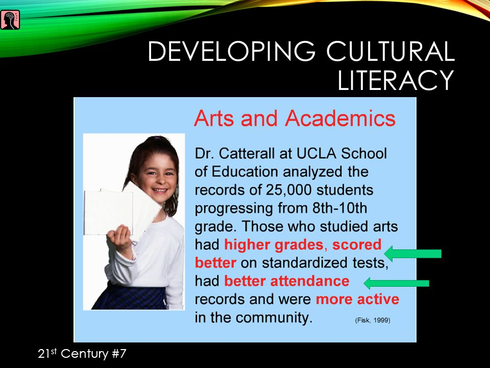 DEVELOPING CULTURAL LITERACY 21 st Century #7