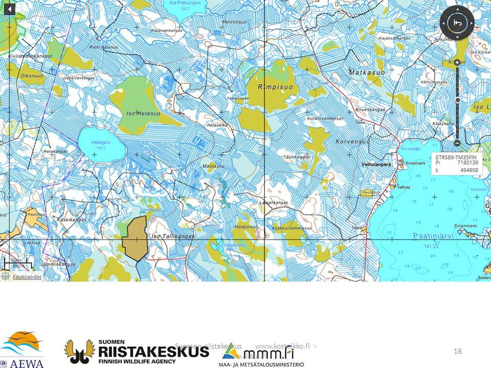 Suomen riistakeskus www.kosteikko.fi - www.riista.fi 18
