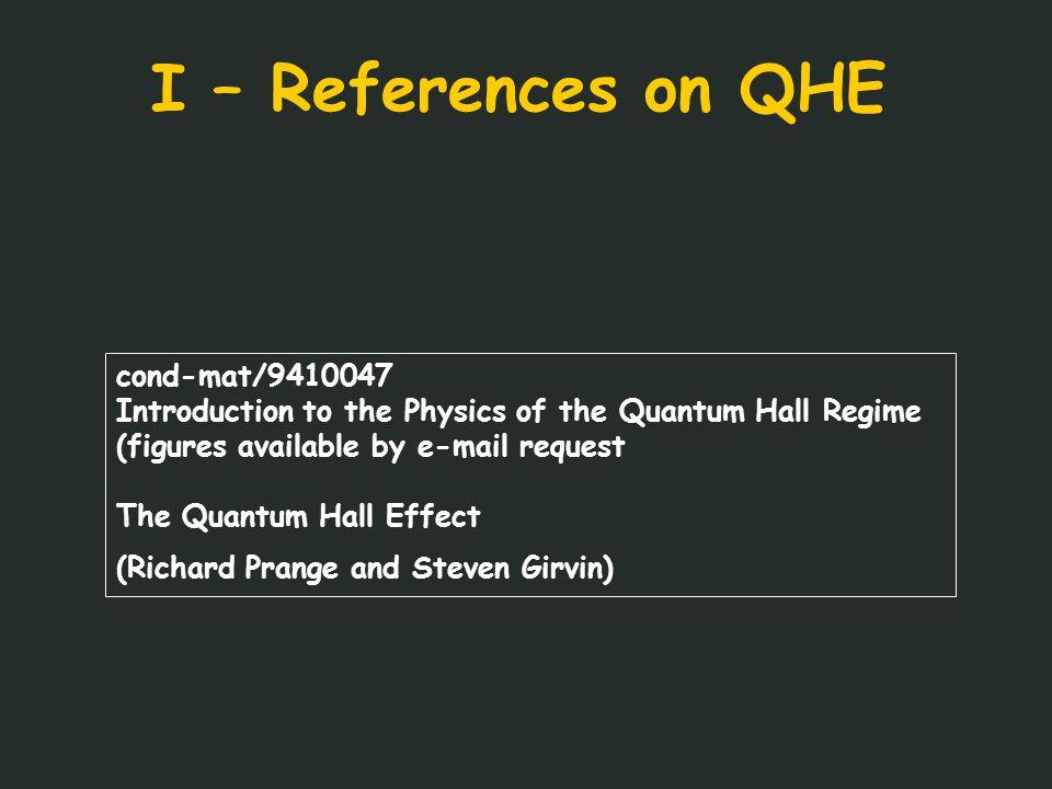 References Eisenstein and AHM - cond-mat/0404 Nature Dec (2004) Abolfath, Radzihovsky & AHM – PRB (2004)