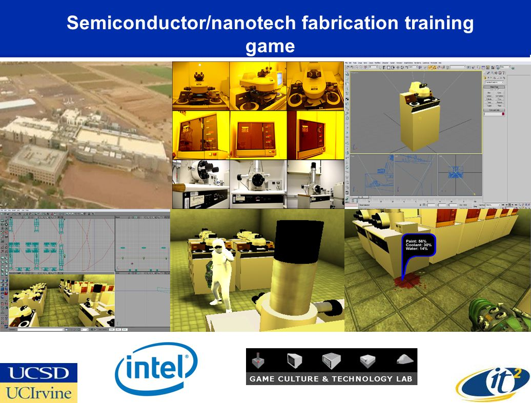 Semiconductor/nanotech fabrication training game