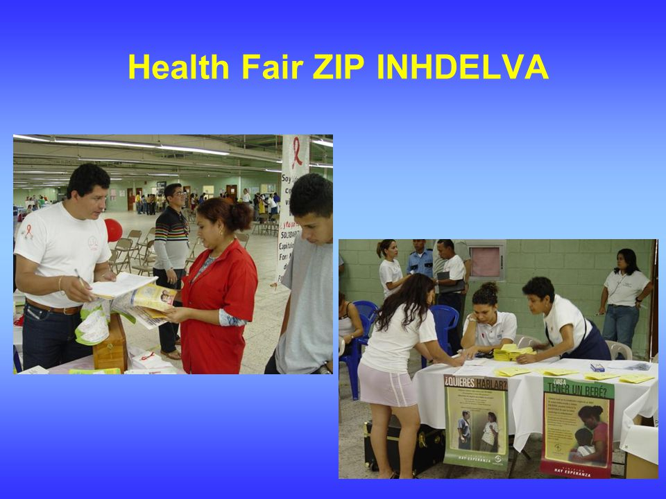 Health Fair ZIP INHDELVA