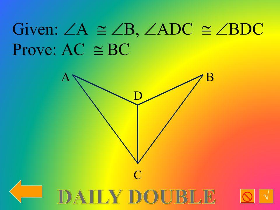 √  Given: MA  TA,  AHM=90  Prove:  AHM   AHT A T H M