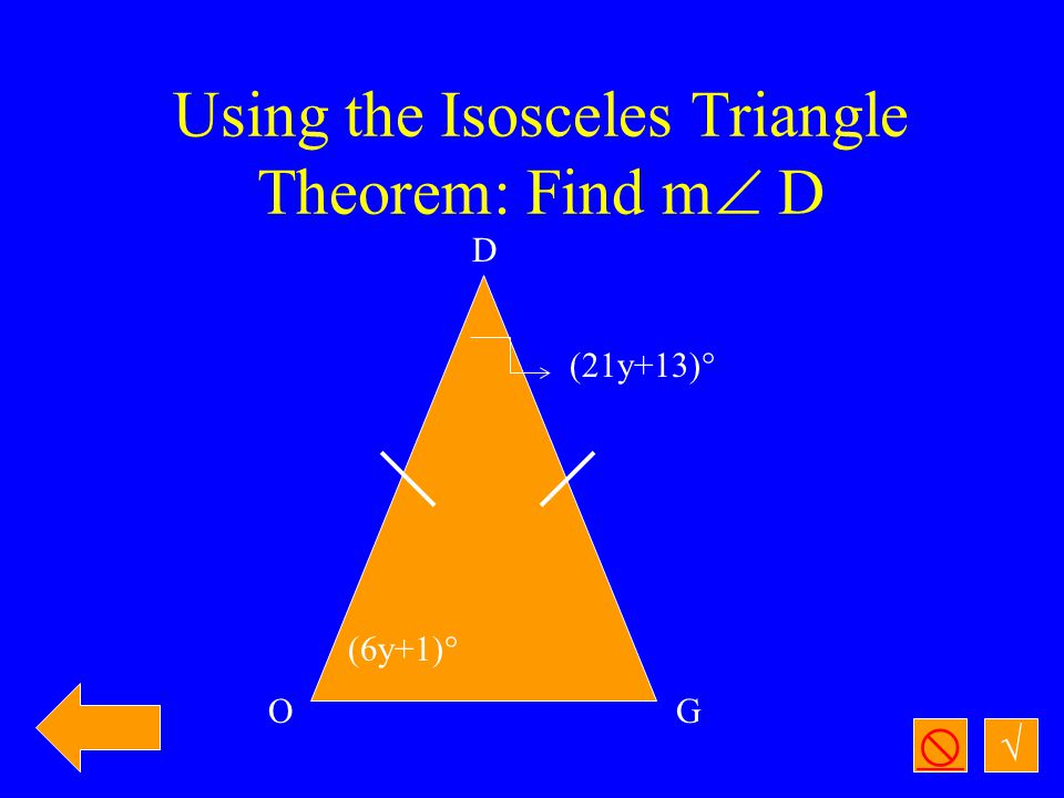 √  Prove the Exterior Angles Theorem: m  1 + m  2 = m  4 1 2 3 4