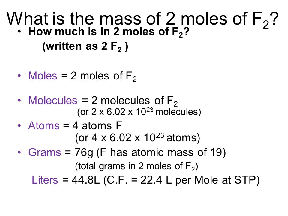 (Gram, molecules, particles, atoms) –Remember ALWAYS convert to moles! –Then use mole ratio.
