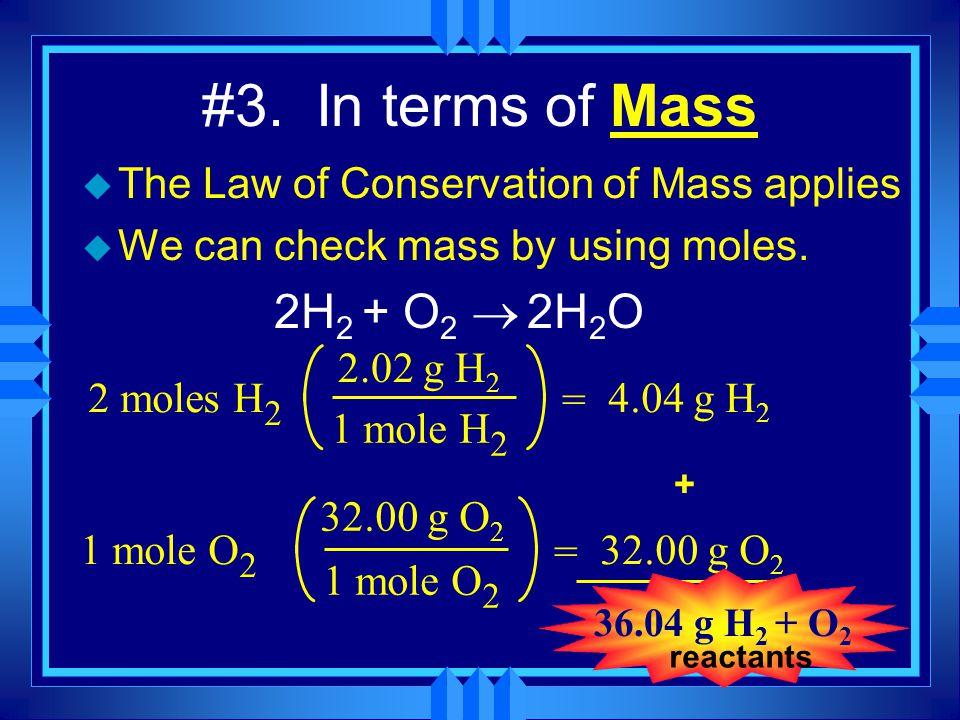 Mass-Mass Problem: 6.50 grams of aluminum reacts with an excess of oxygen.