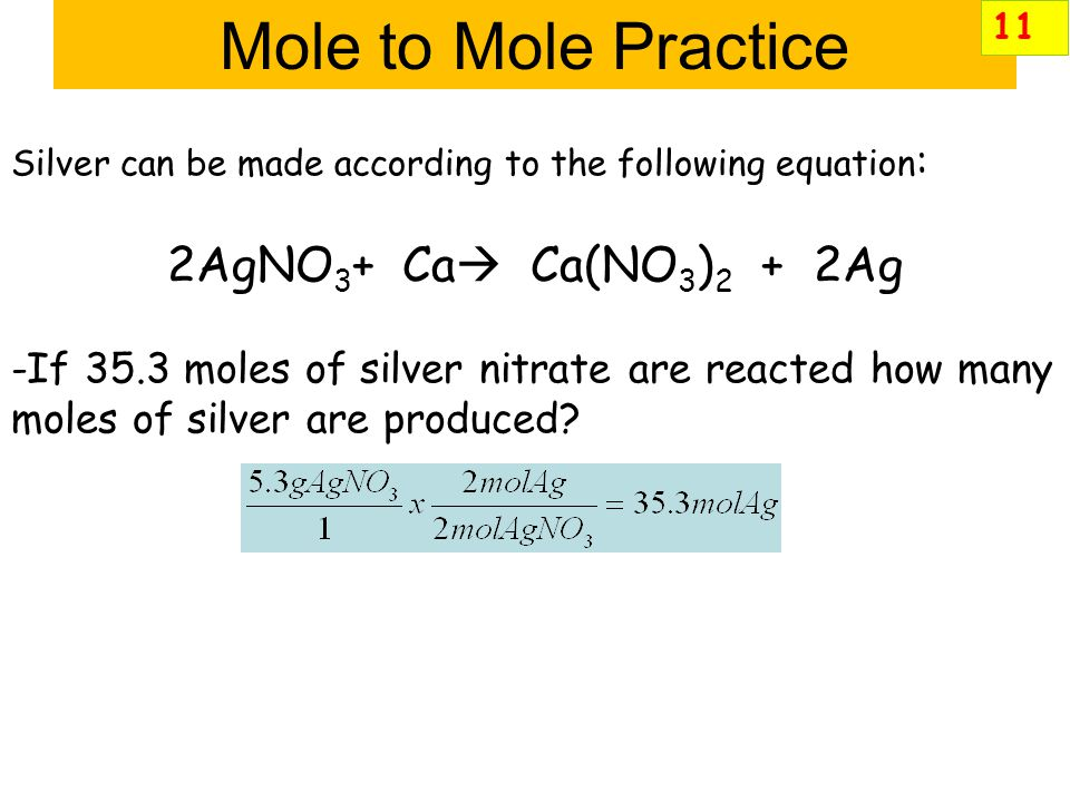 Mole to Mole Practice Carbon disulfide is an important industrial solvent. It is prepared by the reaction of carbon with sulfur dioxide: 5C(s)+ 2SO 2