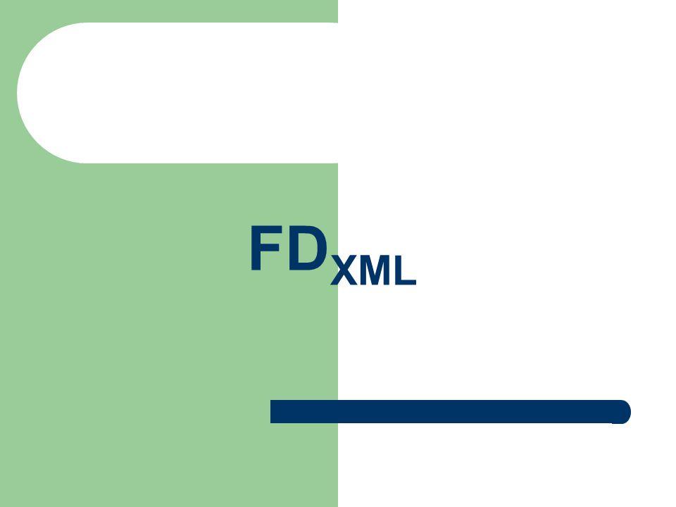 FD XML