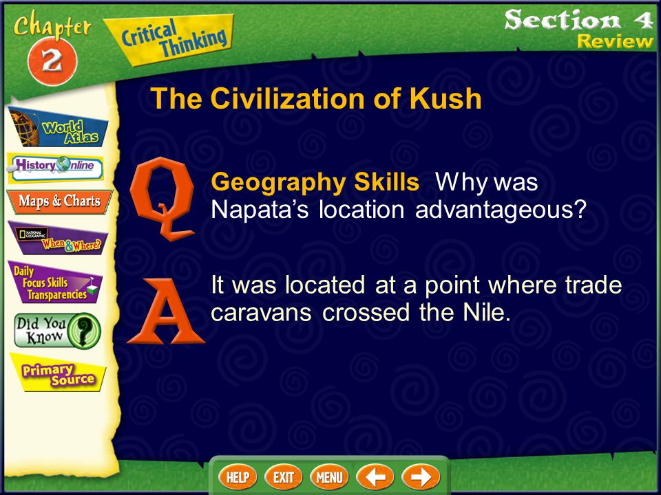The Civilization of Kush What were the Kushites' most important economic activities? The Kushites' most important economic activities were trade and i