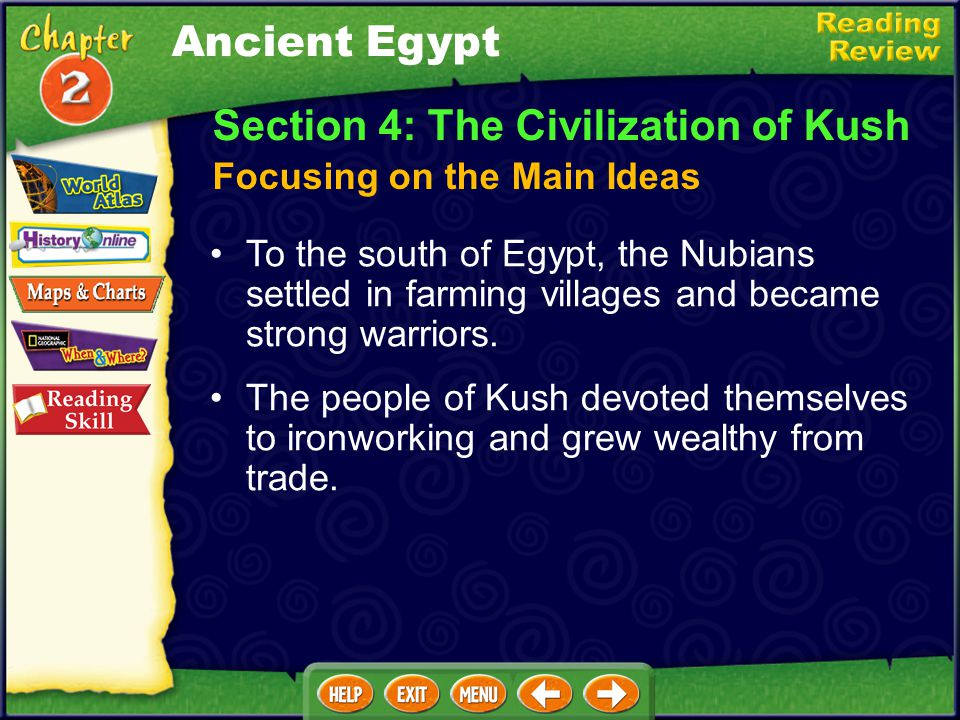 Section 3: The Egyptian Empire Akhenaton tried to change Egypt's religion, while Tutankhamen is famous for the treasures found in his tomb. Under Rams