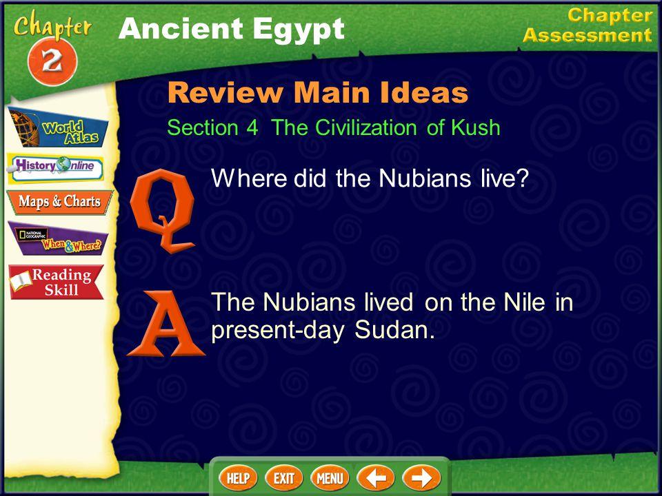 Why are Akhenaton and Tutankhamen well-known? Akhenaton tried to change Egypt's religion. Tutankhamen's tomb was found with many treasures. Section 3