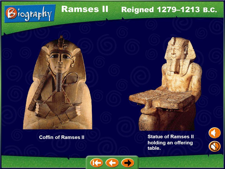 Reigned 1503–1482 B.C. Hatshepsut