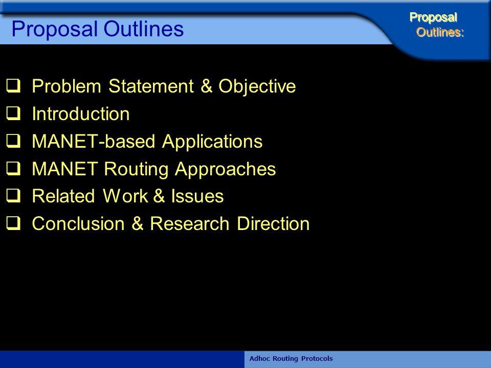 Rajiv RamdhanyAdhoc Routing Protocols Nodes Routing Tables After RERR Node(1) Node(2) Node(3) Ds 1 st No.h S_No ……….