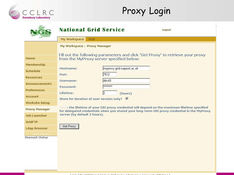 Presenter Name Facility Name Rob Allan Portal Tutorial Proxy Login