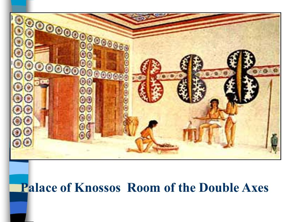 Palace of Knossos Room of the Double Axes