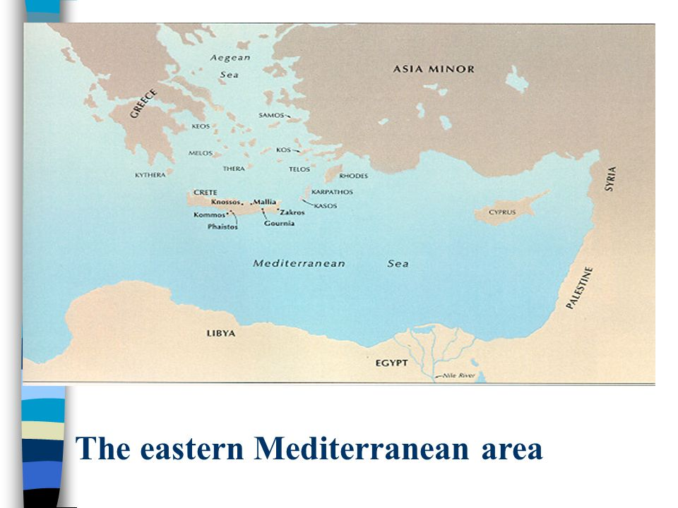 The eastern Mediterranean area