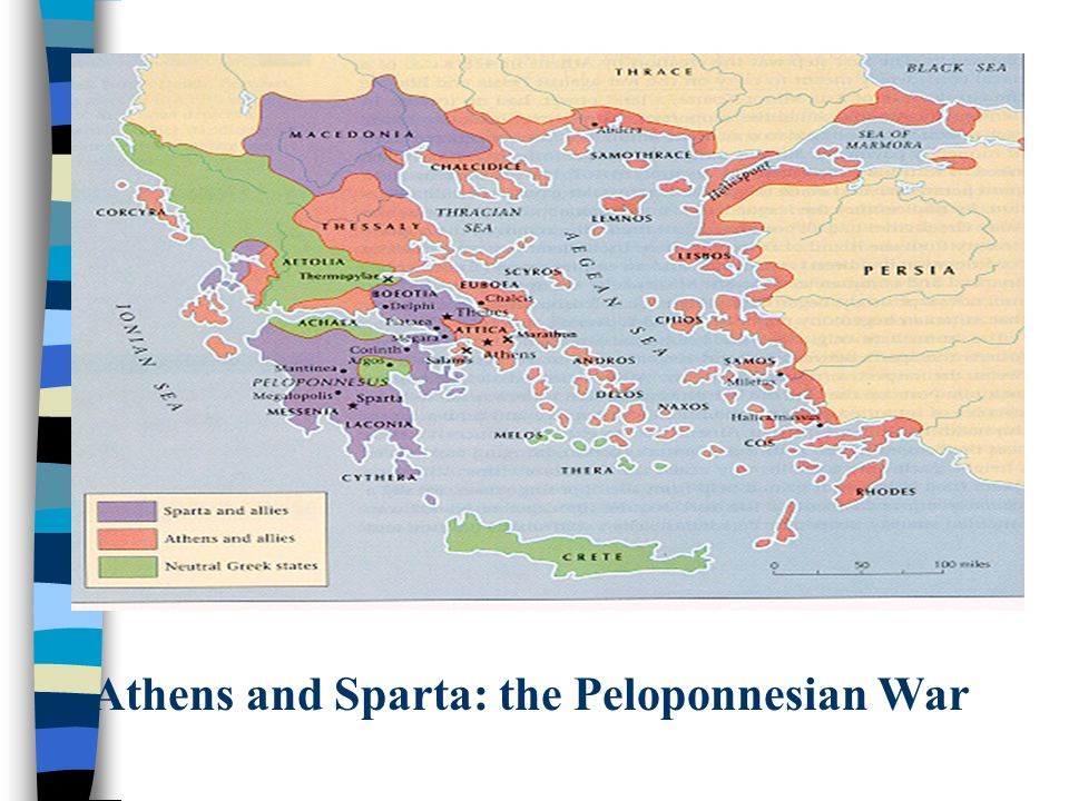 Athens and Sparta: the Peloponnesian War