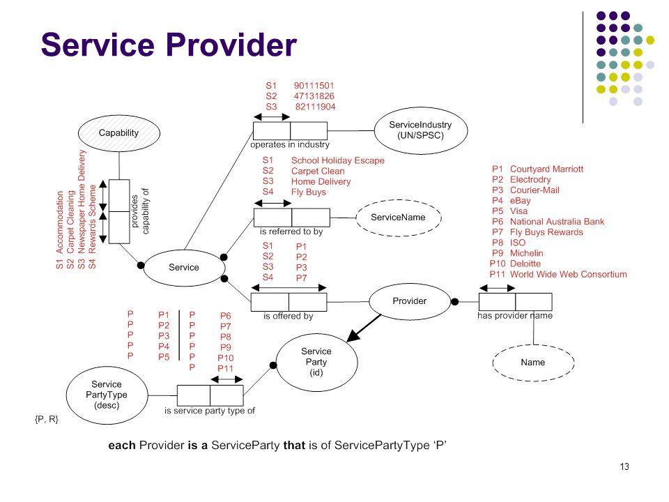 13 Service Provider