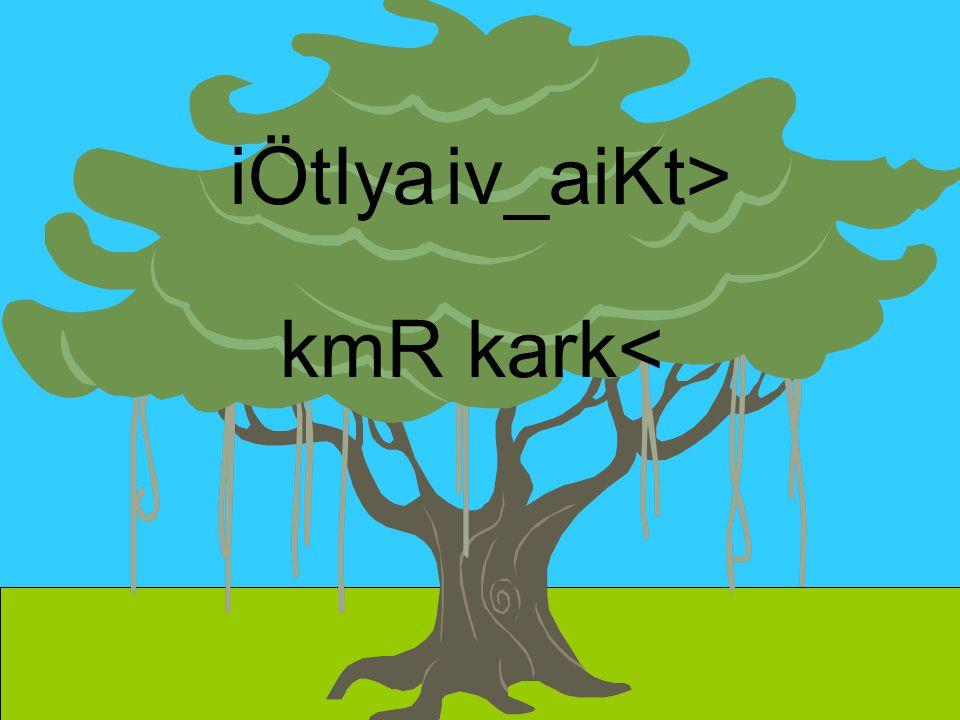 iÖtIya iv_aiKt> kmR kark<