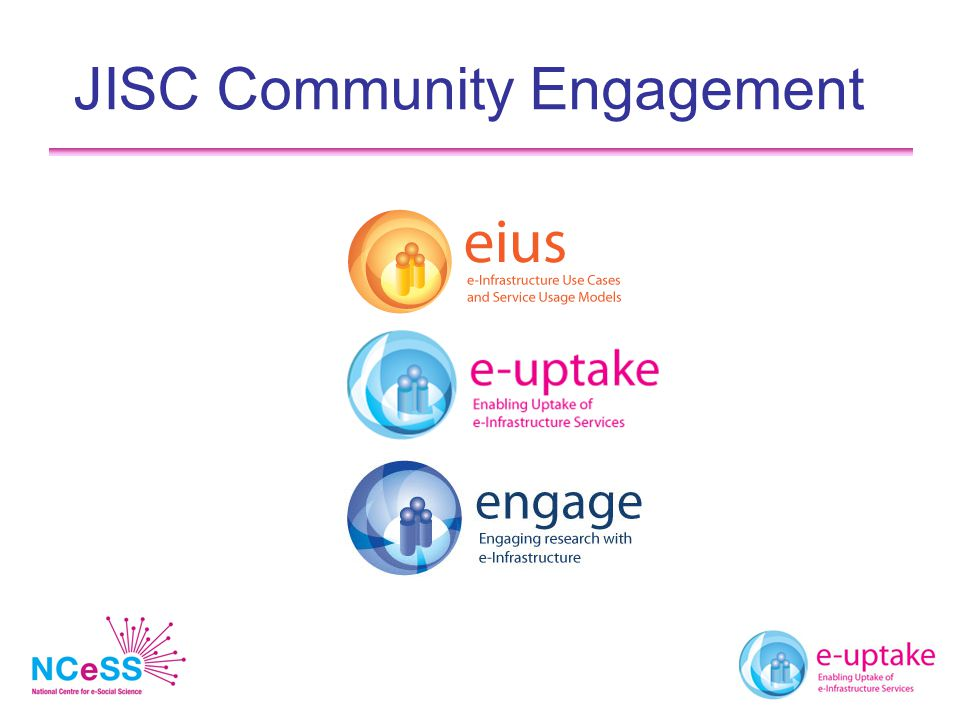 JISC Community Engagement