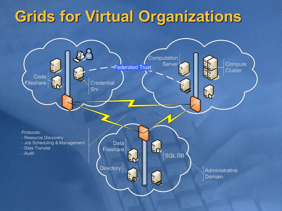 Grids for Virtual Organizations