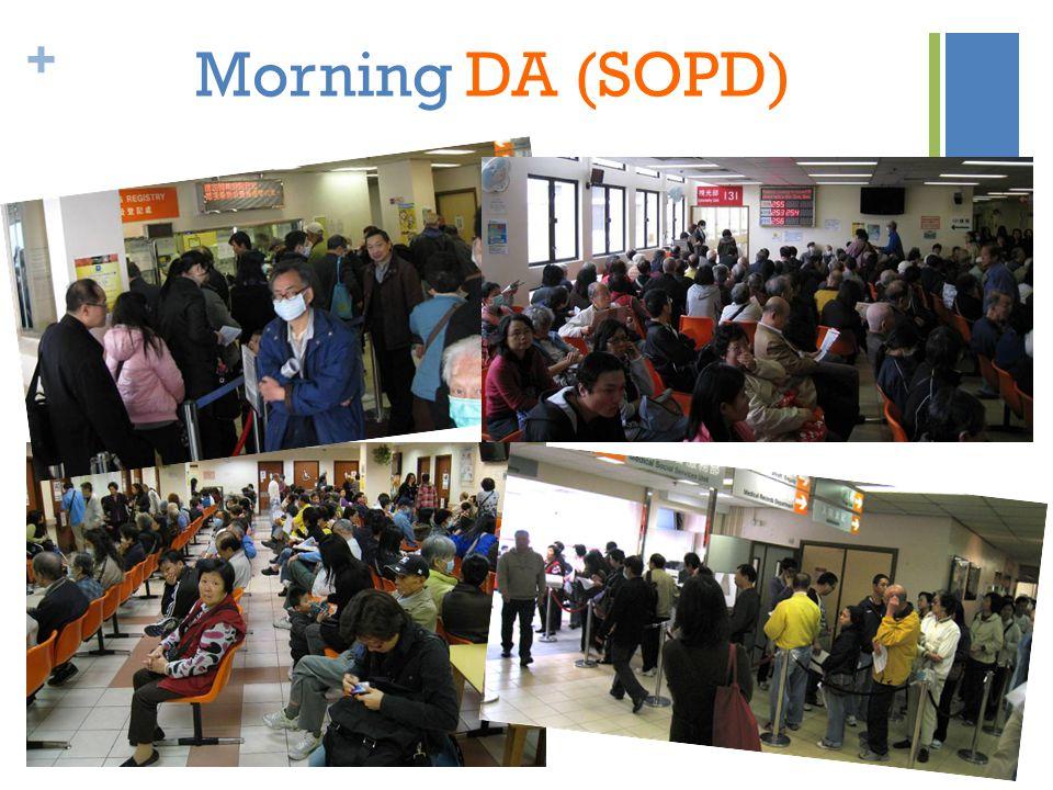 + Morning DA (SOPD)