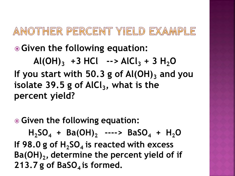  Given the following reaction: C 3 H 8 + 5O 2 -------> 3CO 2 + 4H 2 O If you start with 14.8 g of C 3 H 8 and 3.44 g of O 2, determine the limiting r