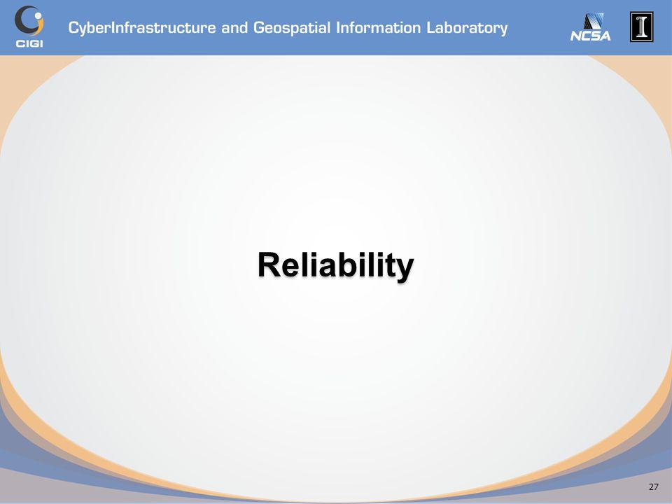 Reliability 27