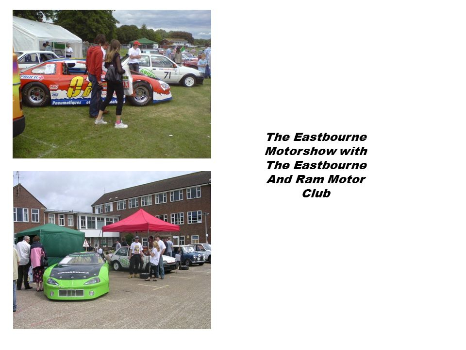 The Eastbourne Motorshow with The Eastbourne And Ram Motor Club