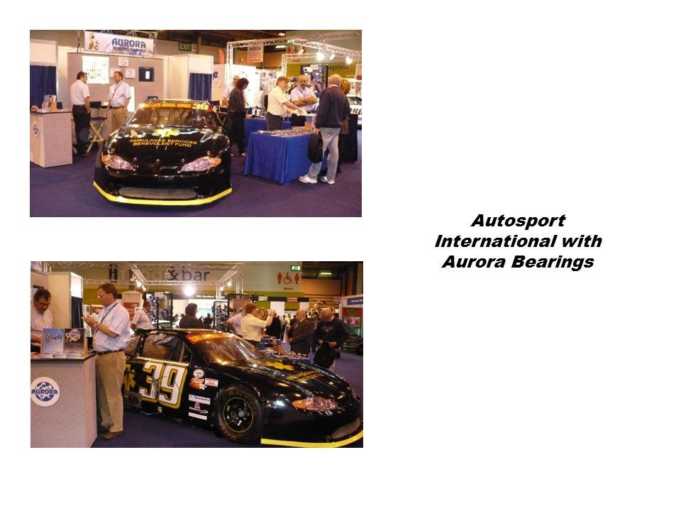 Autosport International with Aurora Bearings