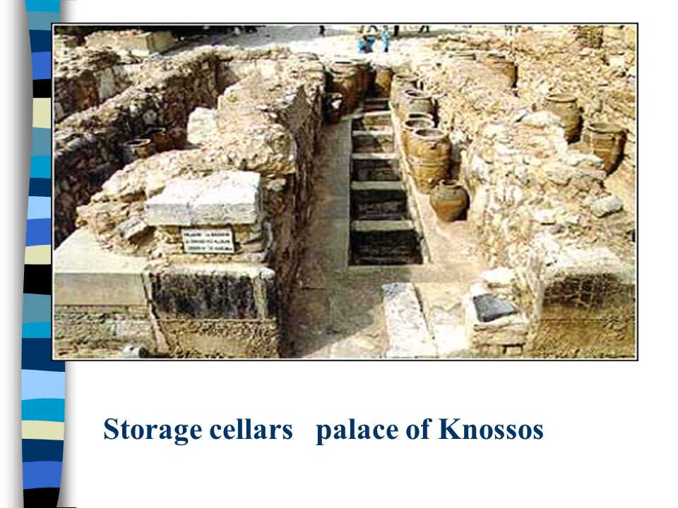 Storage cellars palace of Knossos