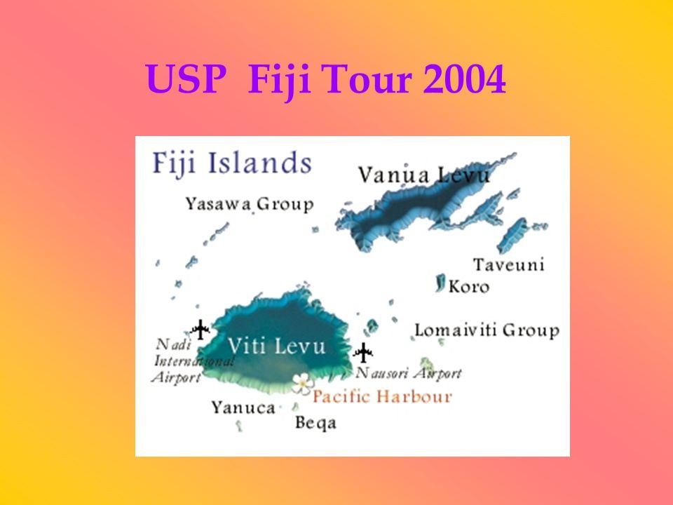 USP Fiji Tour 2004