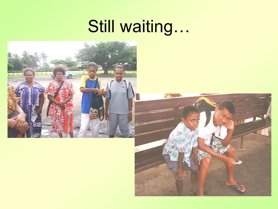 Still waiting…