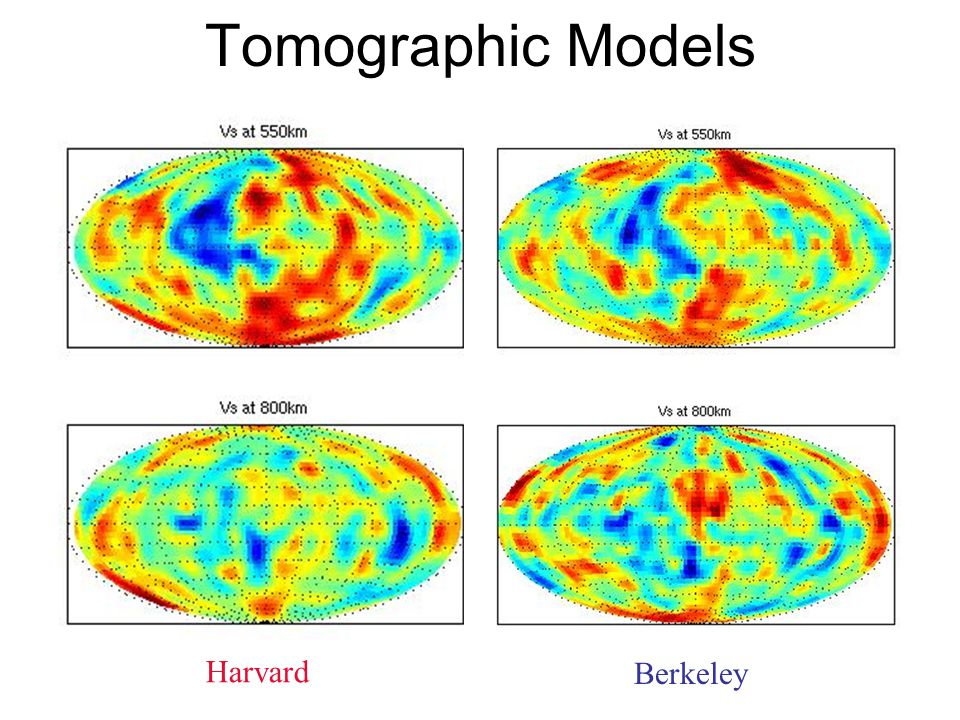 Preliminary Conclusions Tomography reveals larger fast regions in the western Pacific transition zone.