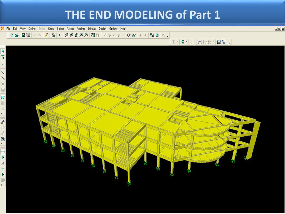THE END MODELING of Part 1