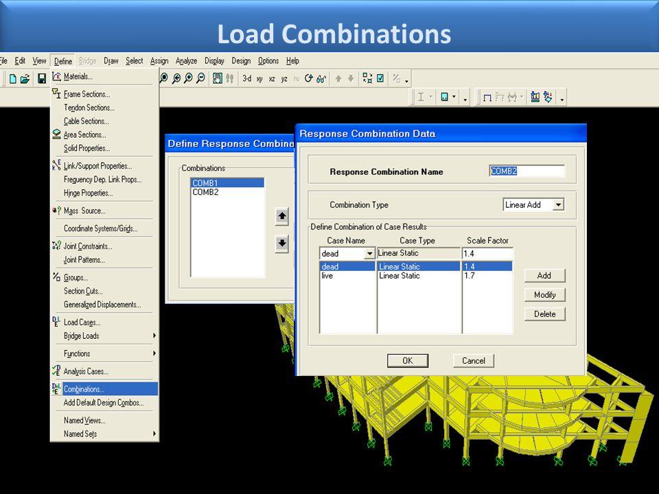 Load Combinations