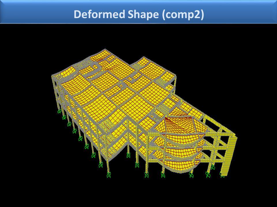 Deformed Shape (comp2)