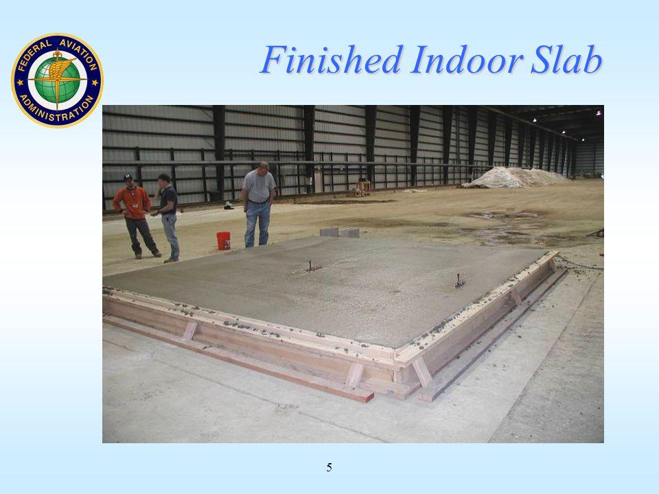 5 Finished Indoor Slab