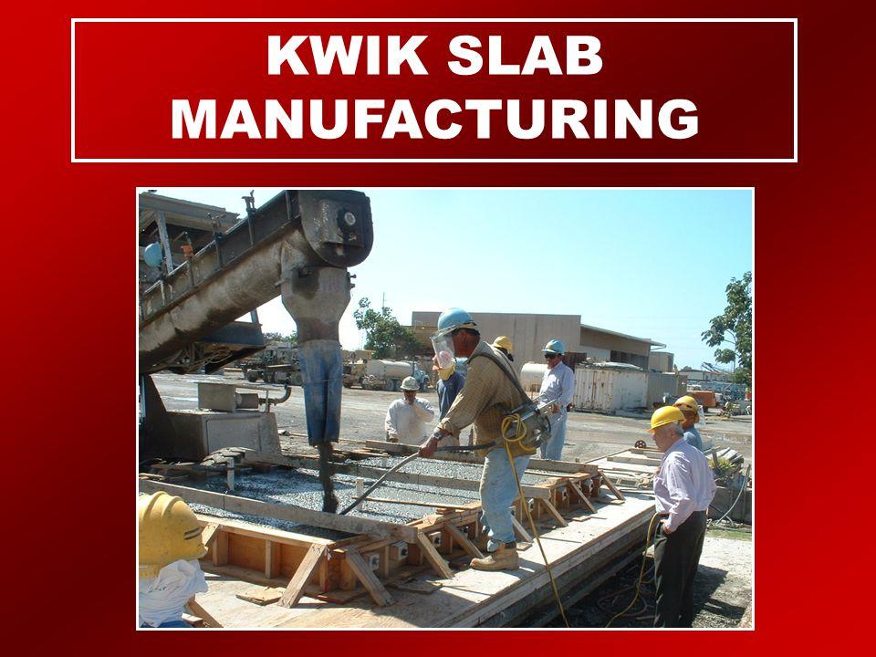 KWIK SLAB MANUFACTURING