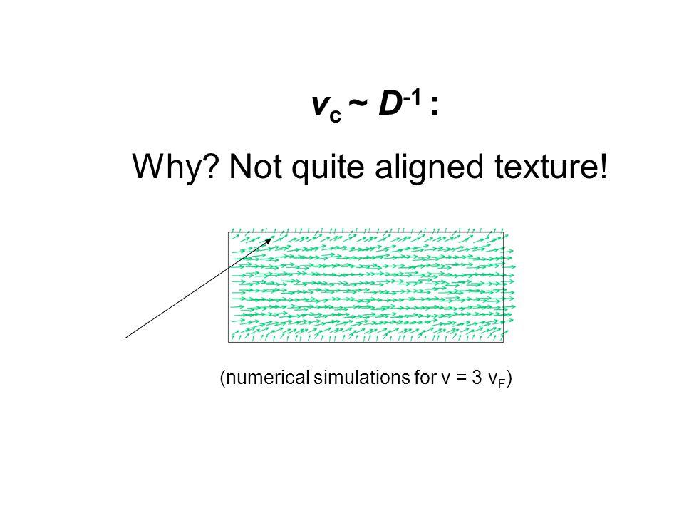 Quantum Phenomena at Low Temperatures, Lammi, 10 January 2004 v c ~ D -1 : Why.