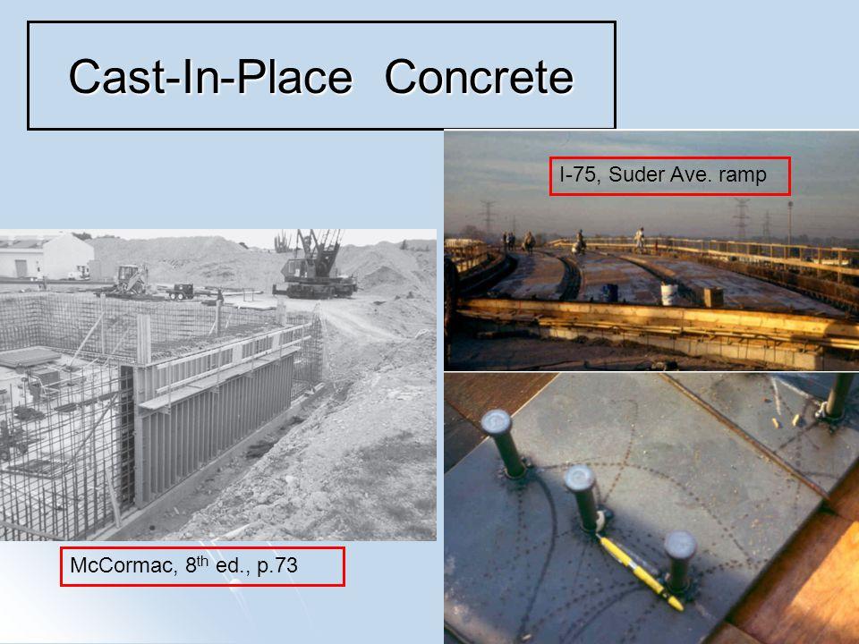 5 Pre-Cast Concrete Veterans Glass City Skyway bridge
